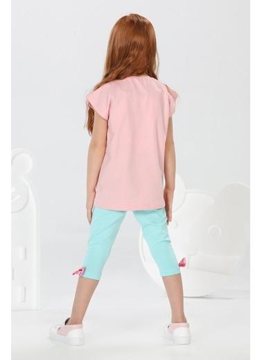 Lupiakids Belive Unicorn Tshirt+Tayt Takım Renkli